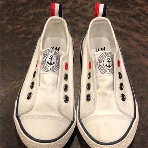 H&M toddler slip on sneakers 7.5
